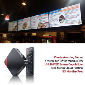 Details about Digital Signage Players with Free Signage CMS Software