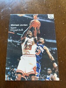 MICHAEL-JORDAN-1998-SPORTS-WEEKLY-PROMO-CARD-23-NMMT-Chicago-Bulls-NBA