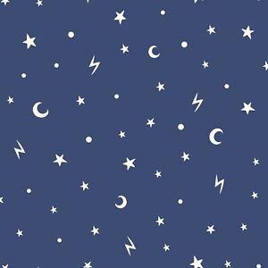 Over-The-Arc-En-Ciel-Stars-et-Lunes-Brille-dans-le-Noir-Fond-Marine-holden-90982