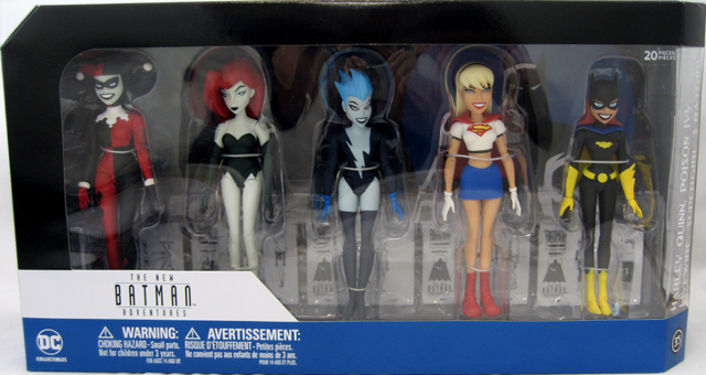 Batman Animated NBA Girls Night Out Action Figure 5 Pack DC COMICS