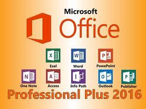 Microsoft-Office-2016-Professional-Plus-3-Keys-im-Paket-Fuer-3-PC-039-s-Mit-Anleitung