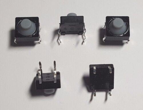 8mm Suave Interruptor De Botón-Paquete de 10-libre de Reino Unido P/&p Momentáneo táctil Push