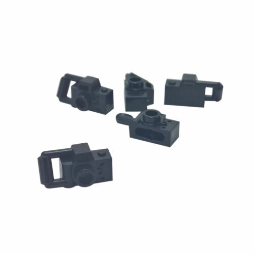 5 NEW LEGO Minifig, Utensil Camera Handheld Style - Type 2 Black