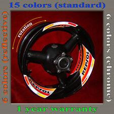 Wheels Sticker / Decal REPSOL HONDA CBR1000RR / CBR600RR / CB1000R / Hornet