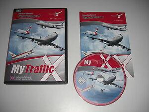 MY-TRAFFIC-X-Pc-DVD-Rom-Add-On-Pack-Microsoft-Flight-Simulator-Sim-X-FSX-FS