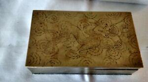 Antique-Vintage-Hand-etched-Chinese-Dragon-Cigarette-Case