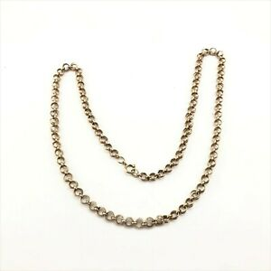 Vintage-1-20-12k-gold-filled-chain-25-5-inches-30-8-grams