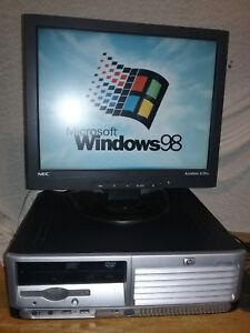 Details about Windows 98 SE DOS Computer PC Pentium 4 3 0Ghz Sata Hard  Drive Industrial & More
