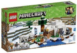 Lego Minecraft 21142 L'igloo - Jeu De Construction