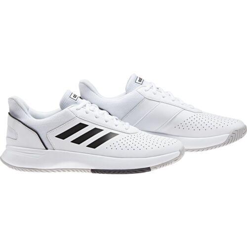 weiss//schwarz//grau Adidas Courtsmash Tennisschuh für Herren