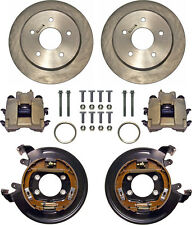 """CURRIE DISC BRAKE KIT,REAR PARKING,BIG FORD NEW,11"""" ROTORS,CALIPERS,5x5 1/2"""""""