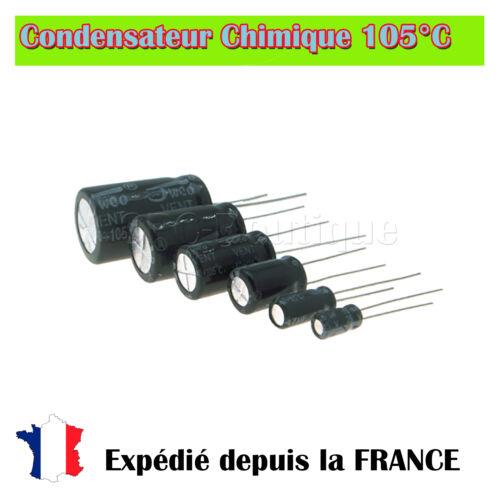33uf//50v chemical radial capacitor 105 ° c
