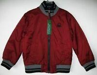 Benetton Boys/girls Reversible Jacket (xs-4/5)