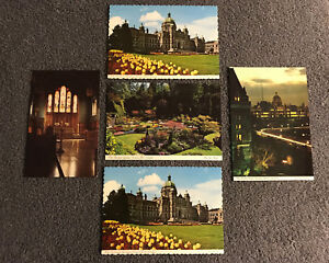 VTG-Parliament-Buildings-Victoria-Canada-British-Colombia-Historical-Post-Cards