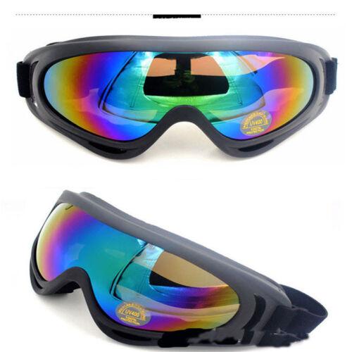 Motocross Motorcycle ATV Dirt Bike Off Road Adult Goggles Glasses Eyewear Clear