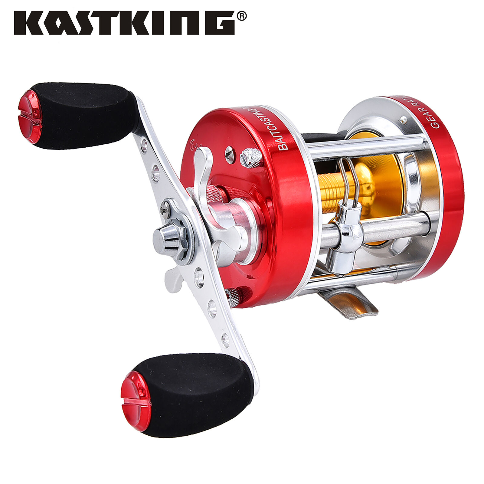 Kastre Rover Round Conventional Baitcast Reel Saltwater Fishing Reels