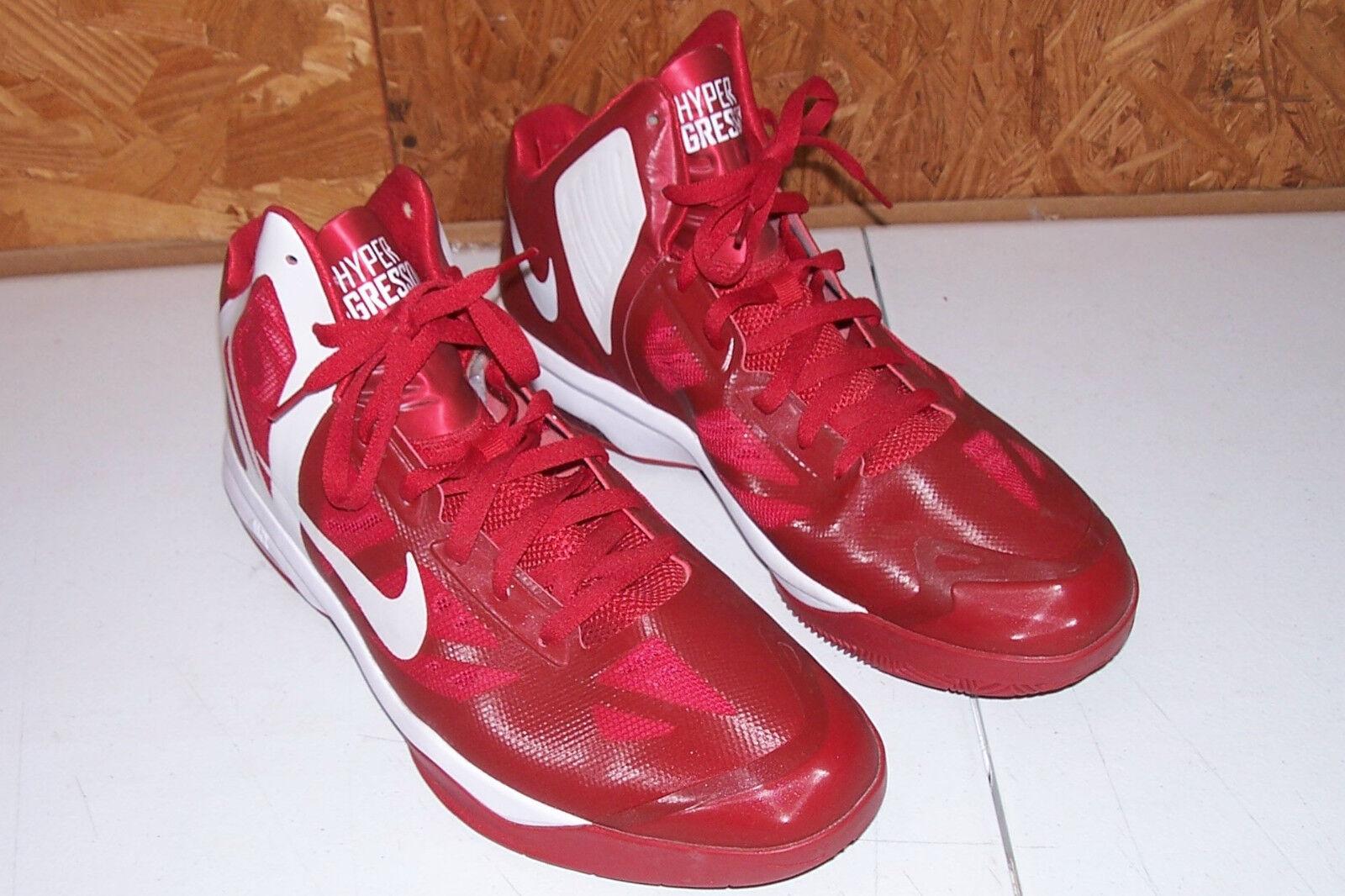 Größe 14 Nike Air Max Hyper Aggressor Basketball schuhe Men's rot Athletic Running