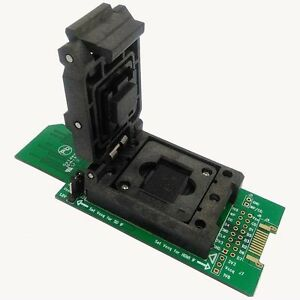 Details about eMMC test socket Size11 5x13mm HDMI Interface bonding pads  BGA153/169 SD reader