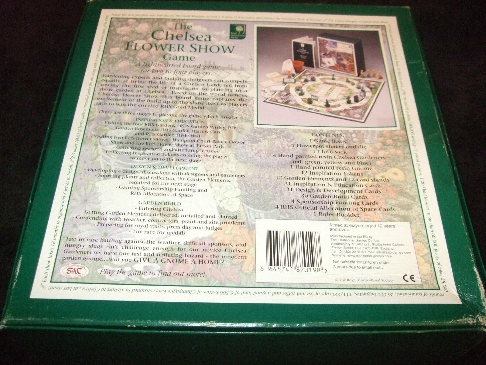 Case Blue Board Game : The family chelsea flower show board game family the board game