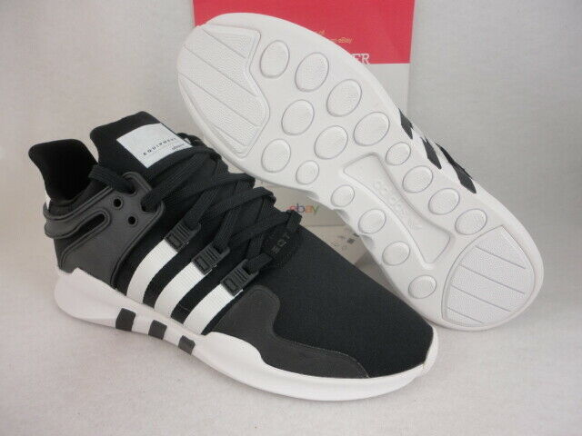best loved 1df04 2bbf5 adidas EQT Support ADV C Black / FTW White B37351 Textile Size 11