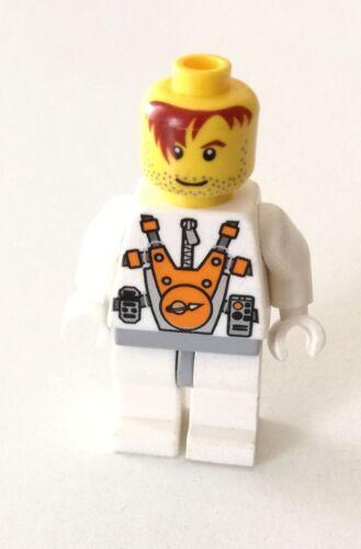 LEGO 1X ASTRONAUTA SPACE MARS MISSION CAPELLI ROSSI MINIFIGURE LOTTO KG SET
