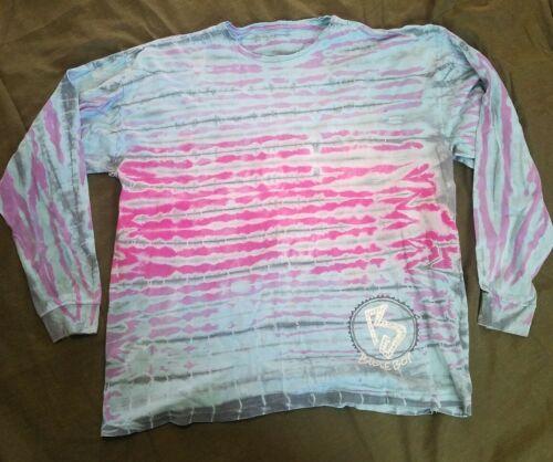 Large Vintage 80's Bugle Boy Tye Dye Long Sleeve B