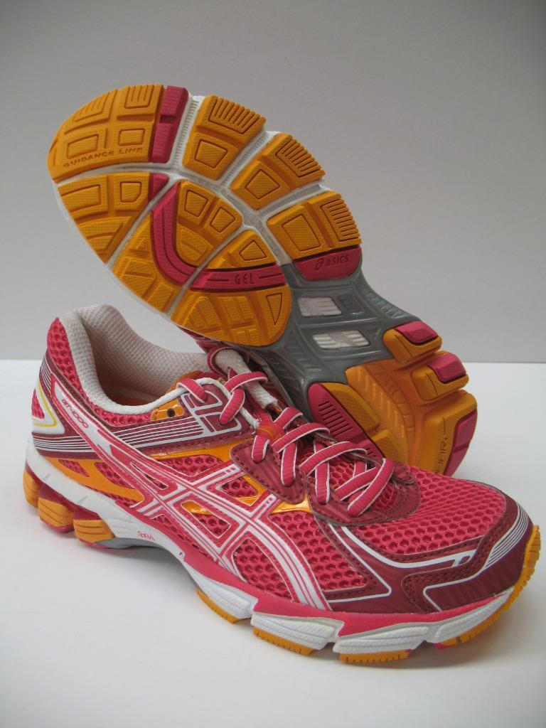 Asics T3R5N GT-1000 2 Technical Running Shoes Sneakers Raspberry Mango Womens Wild casual shoes