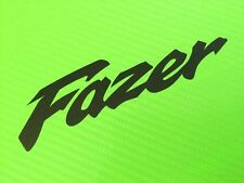 Fazer Old Style Decals stickers for Road or Race Bike or Fairing PAIR #123