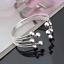 Fashion-Women-925-Silver-Plated-Beads-Bangle-Cuff-Open-Bracelet-Jewelry-Gift-New thumbnail 4