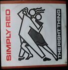 """SIMPLY RED - THE RIGHT THING 12"""" SINGLE AUSTRALIA"""