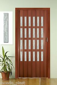Porta a soffietto in pvc completa di vetrini niagara 9 - Porta a soffietto prezzo ...