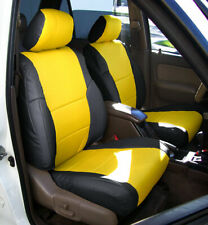 ROYAL BLUE /& BLACK CUSTOM FITS SUZUKI CS 125 82-86 DUAL LEATHER SEAT COVER ONLY