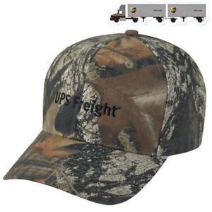c491086bf1a11 UNITED PARCEL SERVICE HAT UPS FREIGHT MOSSY OAK CAMO CAP FREE TRUCK ...