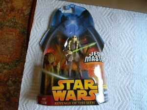 Star Wars 2005 ROTS Kit Fisto Action Figure Loose #22 Revenge of the Sith