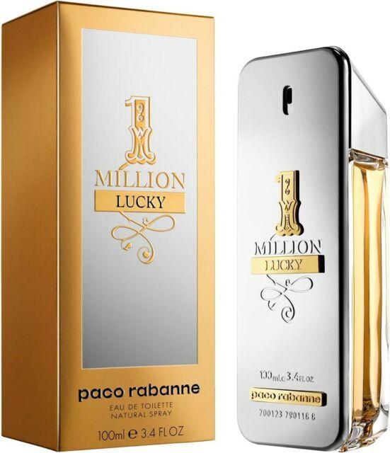 One Million Lucky 100ml EDT for Men Paco Rabanne