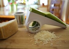 Jumbl Rotary Cheese Grater w/Dual Grating Cylinders