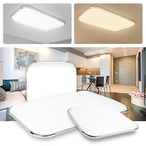 12W-96W-LED-Deckenleuchte-Deckenlampe-Panel-Badlampe-Wohnzimmer-Dimmbar-Kueche