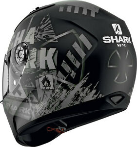 NEU-SHARK-Helm-Ridill-Skyd-schwarz-matt-Gr-L-59-60-Motorradhelm-Sonnenblende