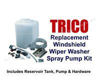 Replacement Windshield Washer Reservoir & Pump Kit -tank, Pump & Hardware 11-102