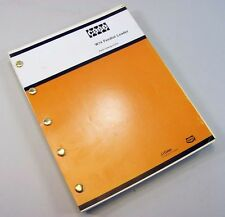 J I Case W14 Feedlot Articulated Loader Parts Manual Catalog Exploded Views