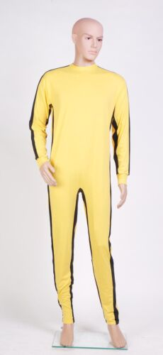The Game of Death Bruce Lee Jumpsuit Classic Movie Cosplay Costume Tailored