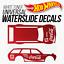 miniatuur 1 - Hot Wheels COCA COLA Custom White Toner Universal WaterSlide Decal 1/64 Scale