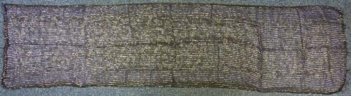 * dollar print long mince coton lurex écharpe couleurs diverses * brillant