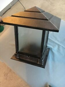 Image is loading Hanover-Lantern-B28361-Indian-Wells-1-Light-Outdoor- & Hanover Lantern B28361 Indian Wells 1 Light Outdoor Pier Lamp - New ...