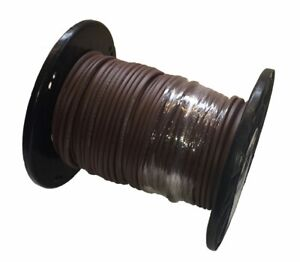 Analysis-Plus-BULK-Chocolate-Oval-12-2-Speaker-Cable-Length-26ft