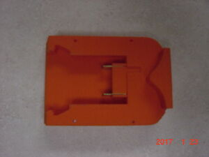 Black Amp Decker 18v Nicad Battery Adapter To Use With Milwaukee M18 Red Bat Ebay
