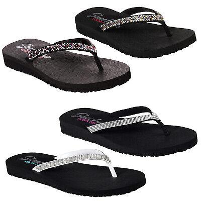 skechers flip flops with yoga foam