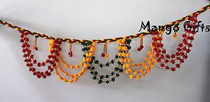 Indian Handmade Multi Color Door Hanging String Decoration Garland