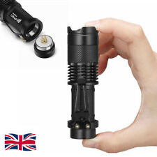 Ultrafire 50000Lumens T6 Zoomable Tactical LED 18650 Flashlight Torch Lamp UK #