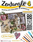 Zentangle: Working with Colors & Stencils: 4: Workbook by CZT Suzanne McNeill (Pamphlet, 2014)